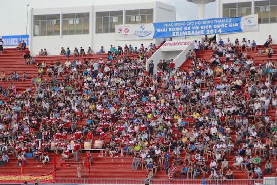 Khán giả nhà vẫn ủng hộ Đồng Nai hết mình sau vụ tiêu cực của 6 cầu thủ