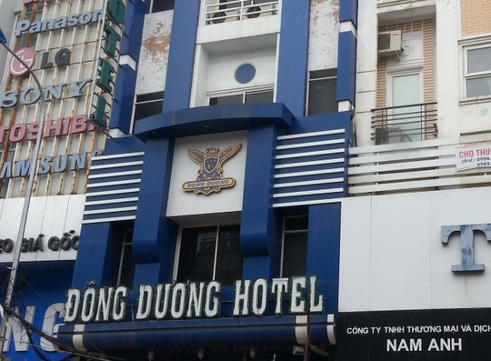 Khách sạn nơi xảy ra vụ việc. Ảnh: Đời sống pháp luật