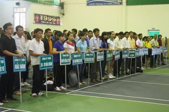 Hơn 300 vận động viên về tham dự hội thao
