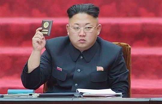 Chủ tịch Kim Jong-un tiếp tục được các thành viên quốc hội bầu làm Chủ tịch thứ nhất của Ủy ban Quốc phòng Triều Tiên (NDC). Ảnh: Reuters