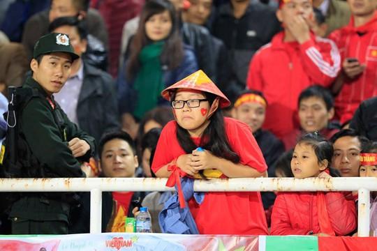 Một CĐV Việt Nam thất vọng ê chề