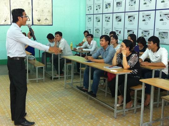 Học viên là người thất nghiệp tại khóa huận luyện kỹ năng bán hàng