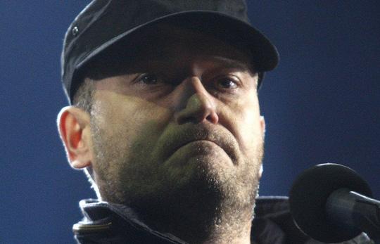 Thủ lĩnh cánh hữu cực đoan ở Ukraine Dmytro Yarosh Ảnh: INTAR-TASS