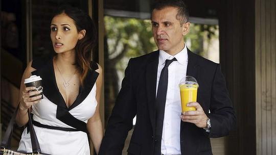 Hung thủ Simon Gittany (phải) cùng người yêu mới (trái). Ảnh: Sydney Morning Herald