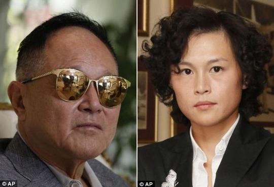 Ông Cecil Chao và con gái Gigi Chao