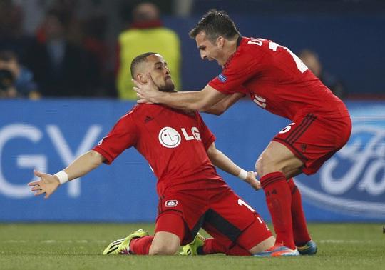 Leverkusen thể hiện tinh thần thi đấu rất đáng khen dù trình độ vẫn thua xa PSG