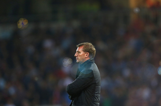 HLV Rodgers không hài lòng với phong độ của các học trò