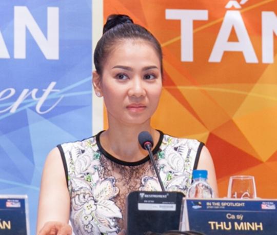 """Thu Minh cho hay khách mời trong liveshow của cô sẽ là Trúc Nhân, người được nhấn mạnh là """"học trò duy nhất"""" của cô đến thời điểm này."""