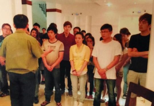 Băng nhóm lừa đảo người Đài Loan và Trung Quốc bị bắt khi dùng các thiết bị công nghệ cao để lừa đảo.