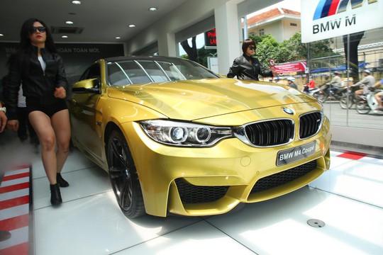 BMW M4 Coupe hoàn toàn mới