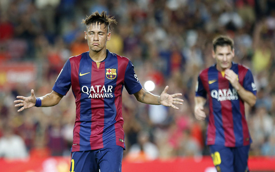 Neymar và Messi đã sẵn sàng nổ súng đêm nay