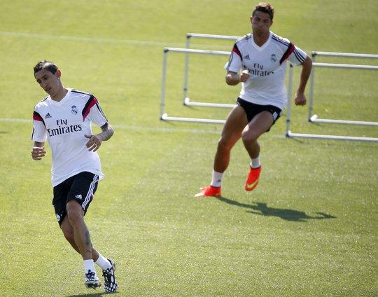 Di Maria đến M.U một phần nhờ sự tư vấn của Ronaldo
