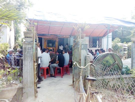 Gia đình đang lo hậu sự cho anh Phan Thanh Bình