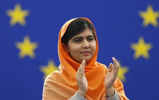 Malala Yousafzai. Ảnh: Reuters