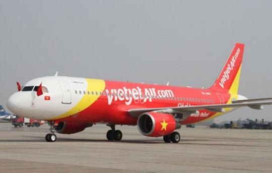 Một máy bay của hãng hàng không VietJet Air - Ảnh minh họa