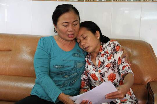Mẹ và dì của tử tù Hồ Duy Hải đau đớn trước tin Hải sắp bị thi hành án tử