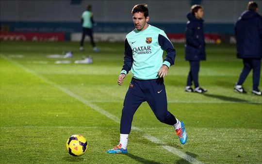 Messi đã hoàn toàn bình phục chấn thương
