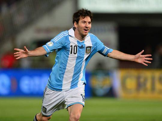 Tỏa sáng trong màu áo Barca nhưng chưa giành một danh hiệu nào đáng kể trognmàu áo Argentina