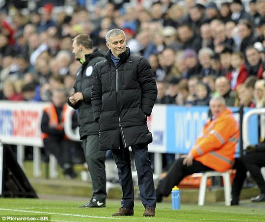 Ông MOurinho không nổi giận dù thất bại trước Nwecastle