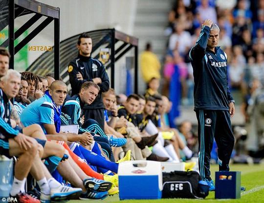 HLV Mourinho mùa qua nhiều lần phàn nàn về khả năng dứt điểm của các tiền đạo