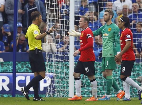 Các cầu thủ M.U trong trận thua Leicester 3-5 hôm 21-9