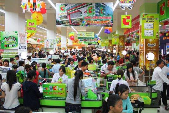 Mua sắm ở siêu thị Big C Hà Nội (Ảnh minh họa).