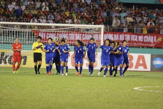 Pha ăn mừng của Thái Lan