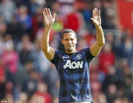 Ferdinand có sự nghiệp đáng tự hào ở M.U