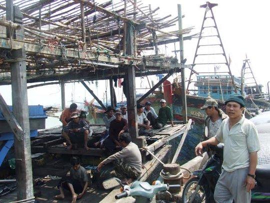 Đời sống đoàn viên nghiệp đoàn nghề cá còn khó khăn  Ảnh: KỲ NAM
