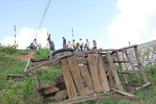 Hiện trường vụ tai nạn tàu hỏa chiều 17-11 tại Quảng Ngãi