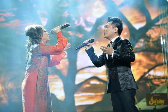 Lê Uyên song ca với ca sĩ Quang Thành