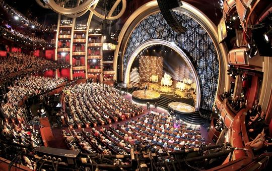 Toàn cảnh sân khấu lễ trao Giải Oscar 2014