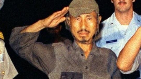 Năm 2001, ông Onoda phát biểu: Tôi không có gì phải hối tiếc. Ảnh: BBC