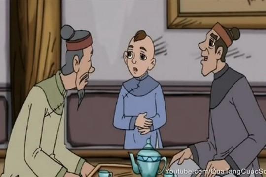 Hình ảnh trong phim Nhặt xương cho thầy được phát sóng trên VTV3. Nguồn: Youtube