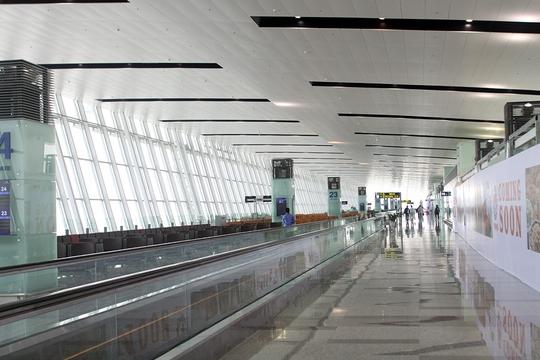 Nhà ga T2 có nhiều cửa ra tàu bay