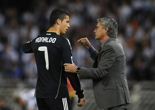 Ronaldo và HLV Mourinho ở Real