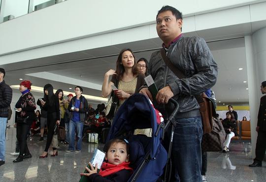 Nhà ga hiện đại nhất T2 đón những hành khách đầu tiên
