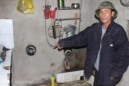 Căn bếp nơi Tiến đổ xăng đốt chị Nguyên. Ảnh Trịnh Nguyễn.