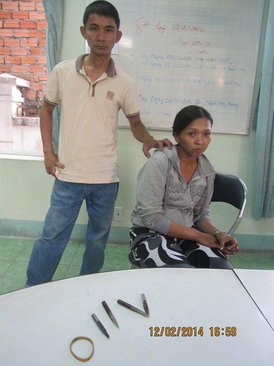 Dù đang nợ án tù, nhưng Hồ Thị Kim Phụng vẫn tiếp tục trộm xe máy.