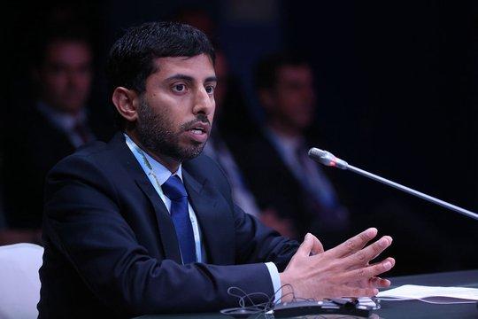 Ông Suhail al-Mazrouei, Bộ trưởng Năng lượng Các Tiểu vương quốc Ả Rập Thống nhất. Ảnh: Bloomberg