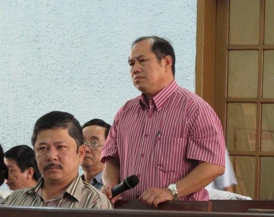 ông Đặng Thành Nguyên, nguyên Trưởng BQLDA huyện Chư Pah tại tòa