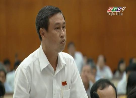 Ông Huỳnh Thanh Nhân chủ tịch UBND quận Thủ Đức cũng góp ý về ô nhiễm môi trường tại quận Thủ Đức