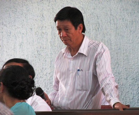 Ông Lê Ngọc Hiệp, Trưởng BQLDA TP Pleiku cũng phủ nhận đã nhận tiền lại quả