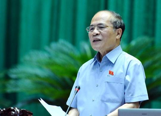 Chủ tịch QH Nguyễn Sinh Hùng: Trong lực lượng đấu tranh phòng, chống tham nhũng biểu hiện tiêu cực vẫn còn, thậm chí là tham nhũng, tiếp tay, cũng là một nguyên nhân gây ra tham nhũng và tiêu cực