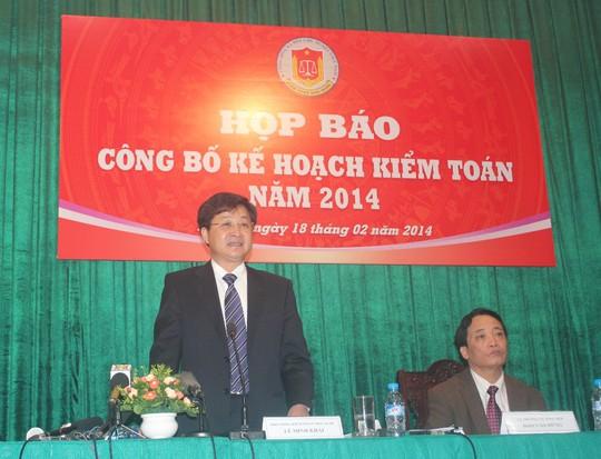 Ông Lê Minh Khái cho biết Kiểm toán Nhà nước đã chuyển 4 vụ việc có dấu hiệu vi phạm hình sự sang cơ quan điều tra Bộ Công an để tiếp tục làm rõ.