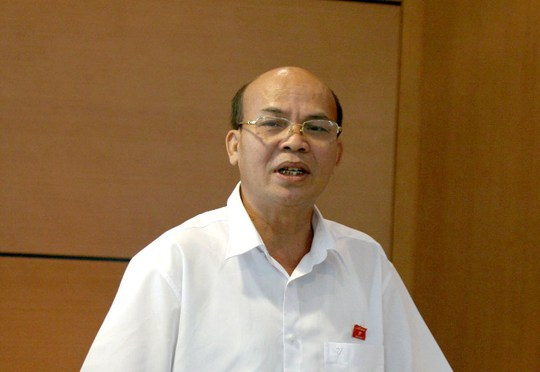Thường trực Ủy ban Tư pháp của Quốc hội, ông Đỗ Văn Đương