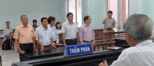 Cuộc thi Nữ hoàng biển VN 2013 của Khánh Hòa đã khiến Cục Nghệ thuật biểu diễn phải hầu tòa vì công ty Rồng Việt khởi kiện - Ảnh: Duy Thanh