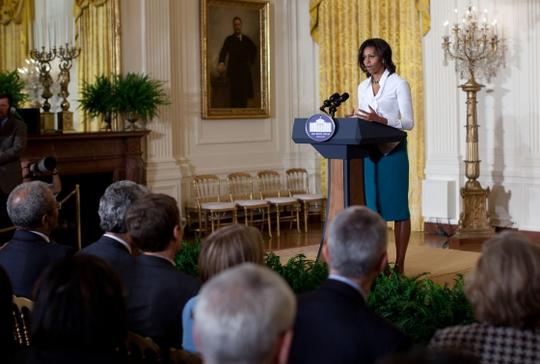 Đệ nhất phu nhân Mỹ khẳng định không có ý định tham gia chính trường. Ảnh: White House