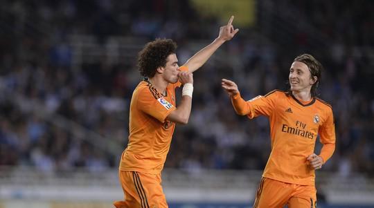 Pepe cũng hạnh phúc khi lập công cho Real
