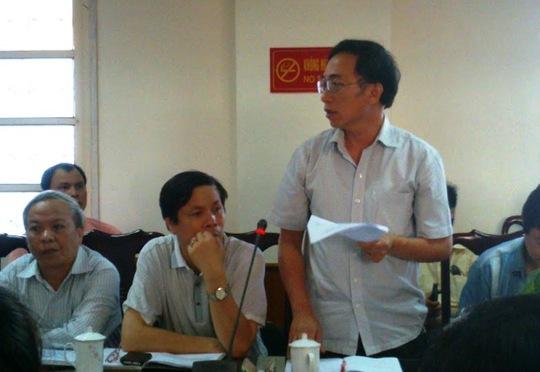 Ông Đỗ Quang Vinh, PGĐ Sở Y tế Thanh Hóa, cho biết không thấy chất độc trong nước lọc